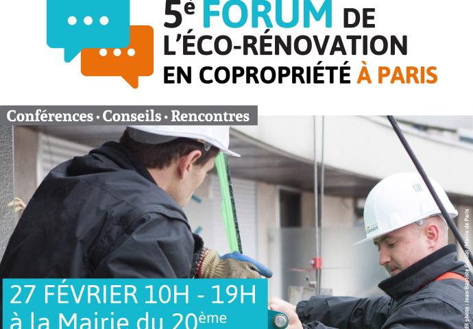 5éme Forum de l'éco-rénovation à Paris